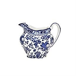 Burleigh Blue Regal Peacock Cream Jug