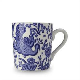 Burleigh Blue Regal Peacock Espresso Cup