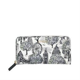 Cath Kidston London Tolie Small Continental Zip Wallet