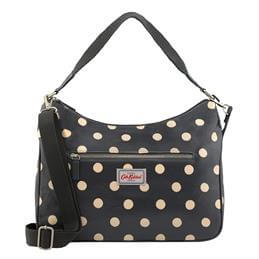 Cath Kidston Button Spot Curve Shoulder Bag