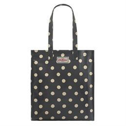 Cath Kidston Charcoal Button Spot Bookbag