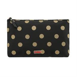 Cath Kidston Glitter Button Spot Poly Zip Cosmetic Bag