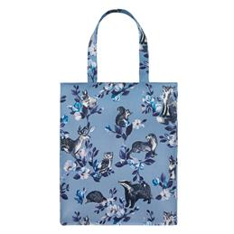 Cath Kidston Badgers and Friends Pocket Zipped Shopper Bag