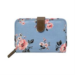 Cath Kidston Grove Bunch Folded Zip Wallet
