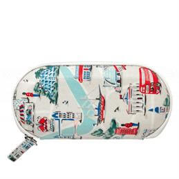 Cath Kidston Small London Map Zip Around Glasses Case