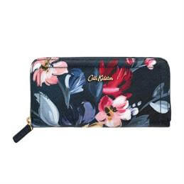 Cath Kidston Paintbox Flowers Continental Zip Wallet