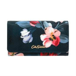 Cath Kidston Paintbox Flowers Medium Foldover Wallet