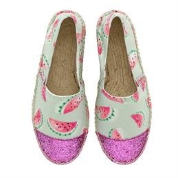 Cath Kidston Watermelons Glittery Espadrilles