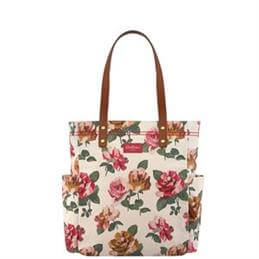 Cath Kidston Chiswick Rose Large Canvas Tote Bag