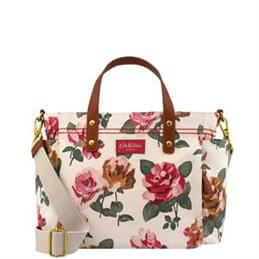 Cath Kidston Chiswick Rose Small Matt Canvas Tote Bag