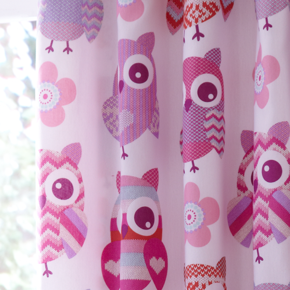 Catherine Lansfield Owl Curtains