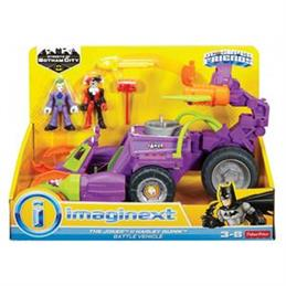 Mattel Imaginext The Joker Claw Vehicle