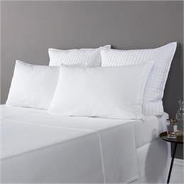 Christy Highgate Brushed Cotton White Fitted Sheet