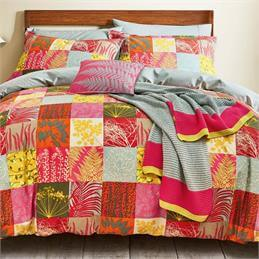 Clarissa Hulse Mini Patchwork Quilt Cover Set: Spice