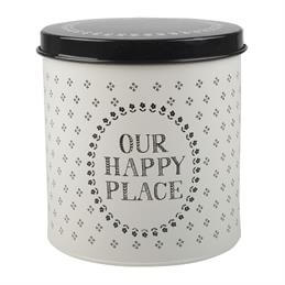 Creative Tops Stir It Up Round Storage Tin: Our Happy Place