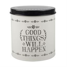 Creative Tops Stir It Up Round Storage Tin: Good Things Will Happen