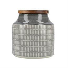 Creative Tops Drift Storage Jar: Grey