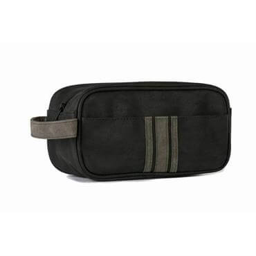 3d9caf0a48 ... Danielle Brompton   Langley Black and Charcoal Small Men s Wash Bag