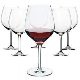 Dartington Set of 6 Large Red Wine Glasses