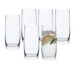 Dartington Set of 6 Crystal Highball Glasses