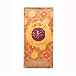 Choc Affair Orange Milk Chocolate Bar 90g