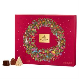 Godiva Chocolates Christmas Gift Box: 20 Pieces