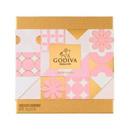 Godiva Chocolates Gold Spring Collection: Box of 14