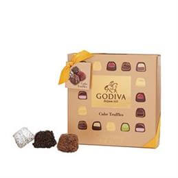 Godiva Chocolates Cube Truffles: Box of 9