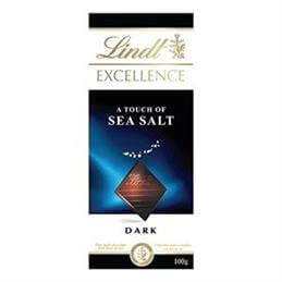 Lindt Excellence Touch of Seasalt Dark Chocolate 100g