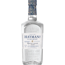 Hayman's Royal Dock Gin: 70cl