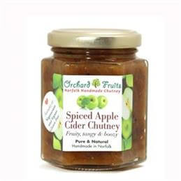 Orchard Fruits Spiced Apple Cider Chutney - Gluten Free