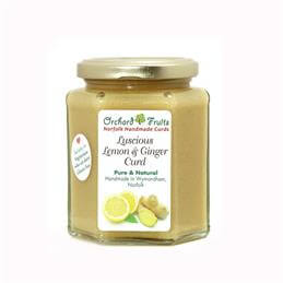 Orchard Fruits Luscious Lemon Ginger Curd - Gluten Free