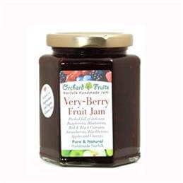 Orchard Fruits Very Berry Fruit Jam - Gluten Free