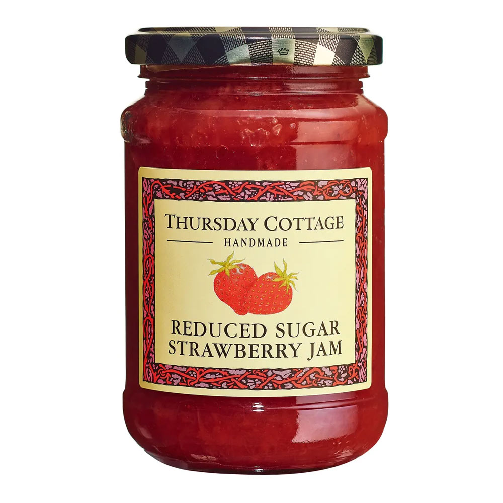 Thursday Cottage Strawberry Jam Reduced Sugar Jarrold