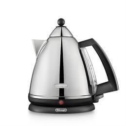 Delonghi Argento Kettle: Chrome Finish