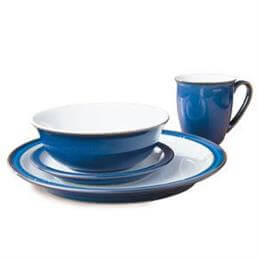 Denby 16 Piece Box Set: Imperial Blue