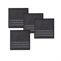 Denby Natural Canvas Slate Coasters (Set of 4)