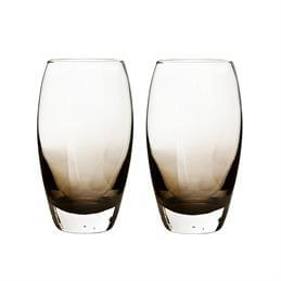 Denby Halo Large Glass Tumblers: Set Of 2