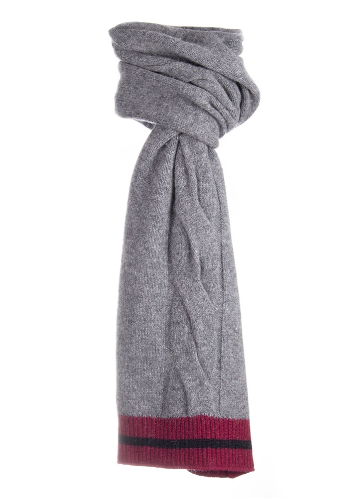 Dents Men S Wool Blend Cable Knit Scarf Scarves Scarves