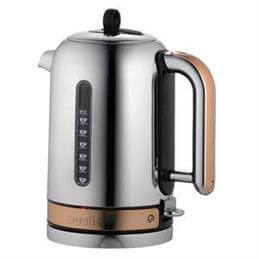 Dualit Classic Copper Trim Kettle