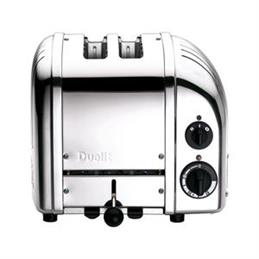 Dualit Classic Vario 2 Slot Toaster: Polished Stainless Steel