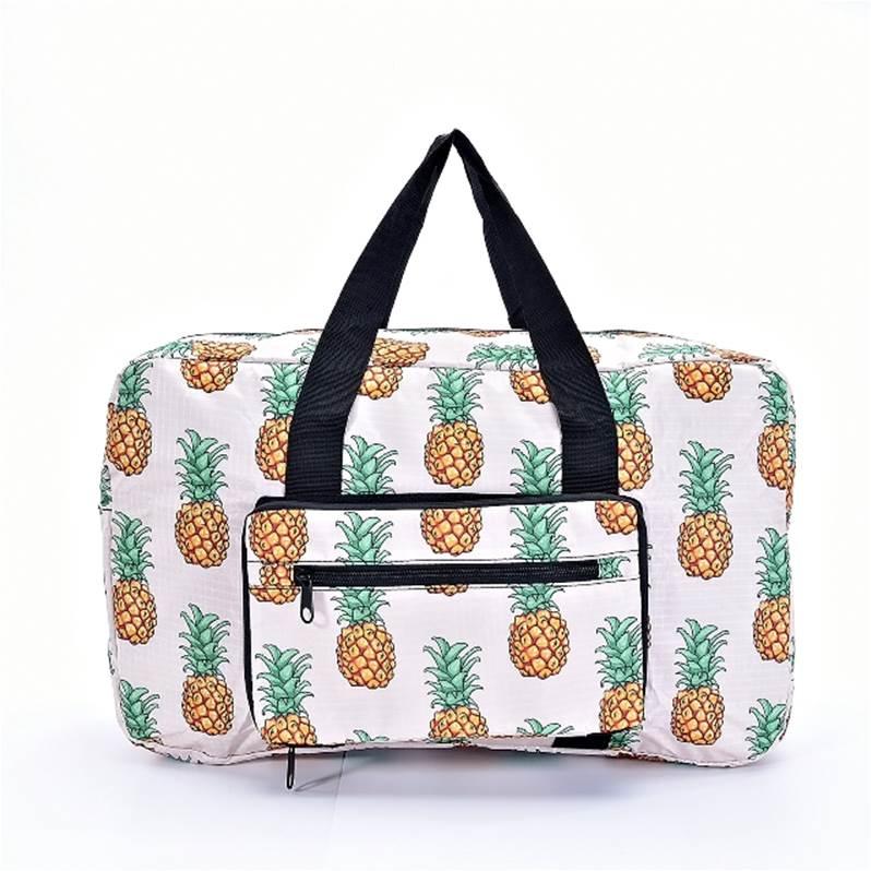 35418 579afefa86f92b10bcef1d5c 17876827 17876834. eco chic pineapple print  foldaway holdall holdalls   tote bags   jarrolds norwich ... 5b5ec13232
