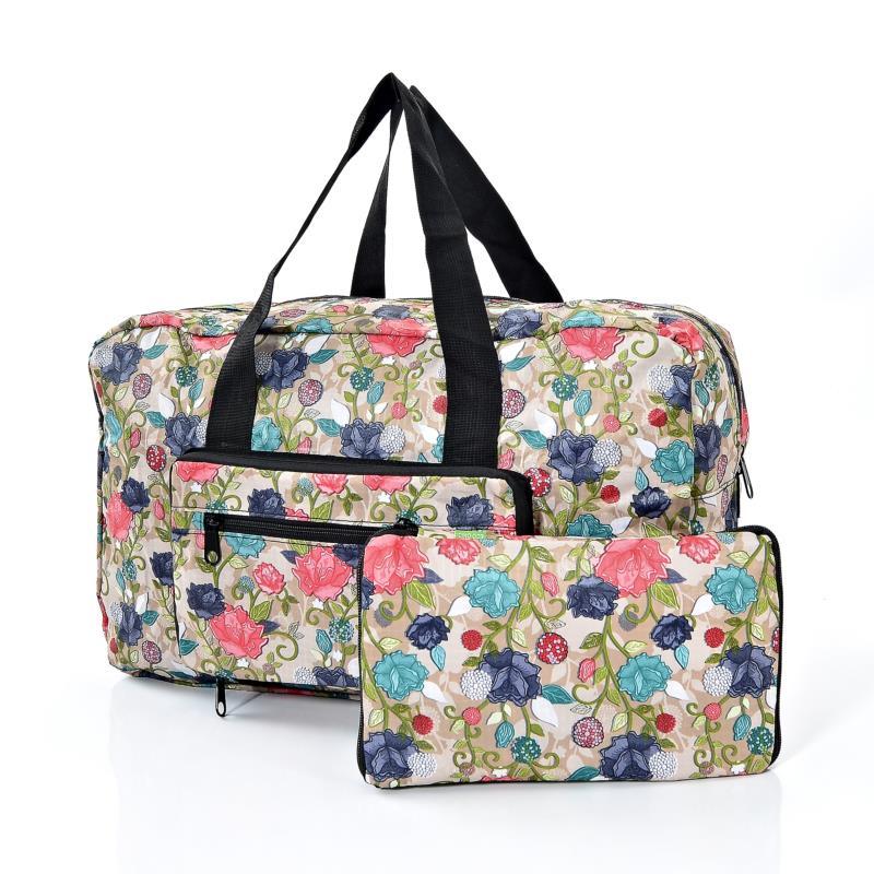 Eco Chic Rose Print Foldaway Holdall   Holdalls   Tote Bags   Holdalls   Tote  Bags   Jarrolds Norwich, Norfolk 2ebbf71f80