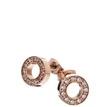 44f0b5776 ... Edblad Eternity Rose Gold Stud Earrings