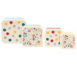 Elite Emma Bridgewater Polka Dot Snack Tubs: Set Of 4