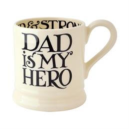 Emma Bridgewater Black Toast Dad Is My Hero 1/2 Pint Mug