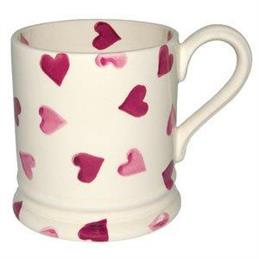 Emma Bridgewater Pinks Hearts 1/2 Pint Mug
