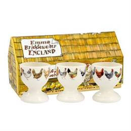Emma Bridgewater Hen & Toast Egg Cups: Set Of 3