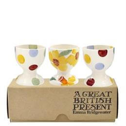 Emma Bridgewater Daffodils Set of 3 Eggcups