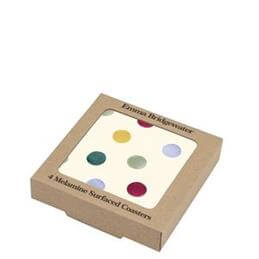 Emma Bridgewater Set of 4 Polka Dot Coasters